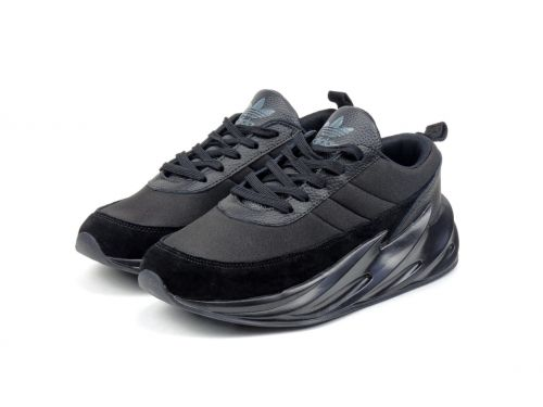 ADIDAS SHARK  BOOST RUNNING AND TRAINING SHOES(BLACK)