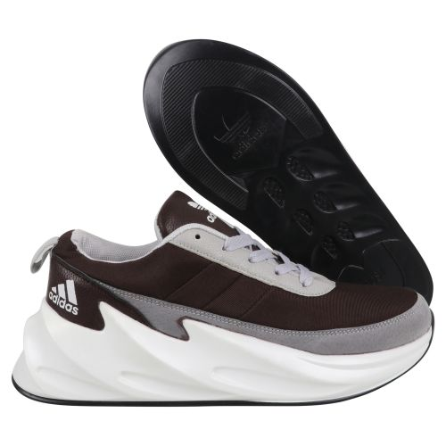 ADIDAS SHARK  BOOST RUNNING AND TRAINING SHOES(BROWN)