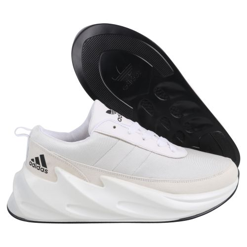 ADIDAS SHARK  BOOST RUNNING AND TRAINING SHOES(WHITE)