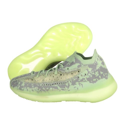 ADIDAS YEEZY BOOST 380 ALIEN RUNNING AND TRAINING SHOES(LIGHT GREEN)