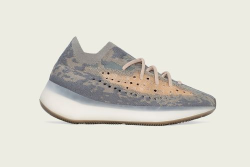 ADIDAS YEEZY BOOST 380 ALIEN RUNNING AND TRAINING SHOES(GREY BROWN)