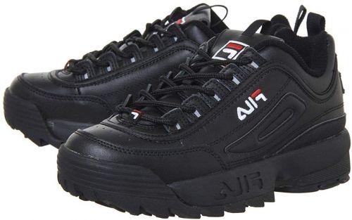 Fila Men White sneakers(BLACK)