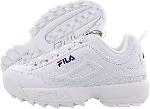 Fila Men White sneakers(WHITE)