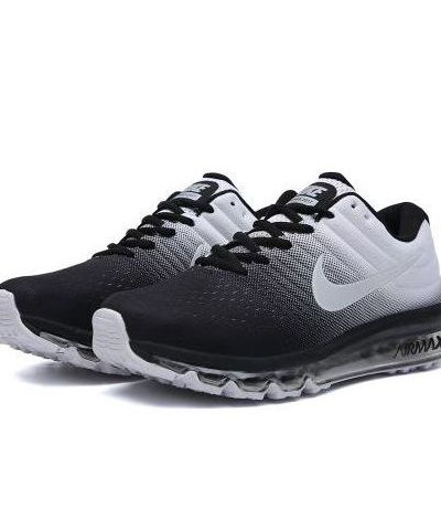 NIKE AIR MAX 2017 RUNNING AND TRAINING SHOES(BLACK WHITE)