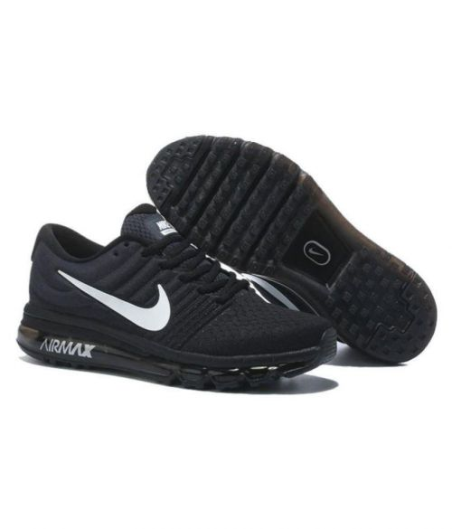NIKE AIR MAX 2017 RUNNING AND TRAINING SHOES(BLACK)