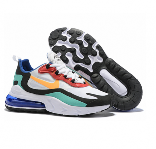 NIKE AIR MAX 270 REACT RUNNING AND TRAINING SHOES