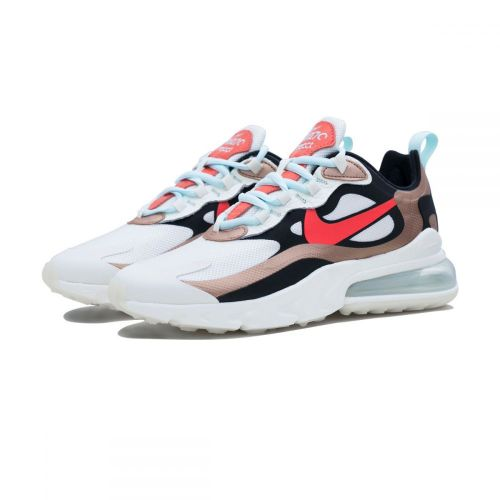 NIKE AIR MAX 270 REACT RUNNING AND TRAINING SHOES(MULTICOLOR)..