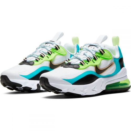 NIKE AIR MAX 270 REACT RUNNING AND TRAINING SHOES(MULTICOLOR)