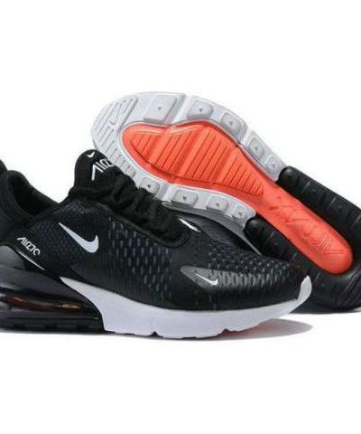 Nike Air Max 270 Running & Training Shoe For Men (BLACK)
