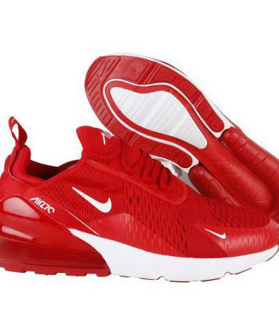 NIKE AIR MAX 270 RUNNING AND TRAINING SHOES ( RED)