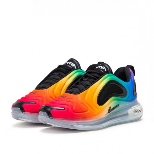 NIKE AIR MAX 720 RUNNING AND TRAINING SHOES(MULTICCOLOR)