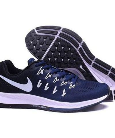 Nike Zoom Pegasus 33 Running And  Training Sports Shoes(NAVY BLUE)