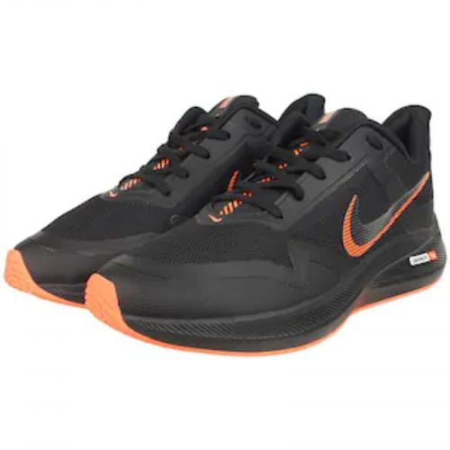 Nike Air Zoom Winflo 7X Running And Training Sports Shoes(BLACK & ORANGE)