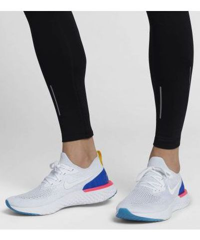 NIKE EPIC REACT FLYKNIT  RUNNING AND TRAINING SHOES (BLACK))