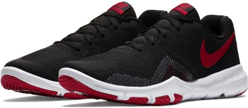 NIKE FLEX CONTROL II RUNNING AND TRAINING SHOES(BLACK & RED)
