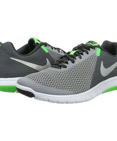 NIKE FLEX EXPERIENCE RN 5  RUNNING AND TRAINING SHOES (GREY & GREEN)