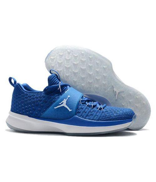 NIKE JORDAN FLYKNIT Basketball RUNNING AND TRAINING SHOES(ROYEL BLUE)