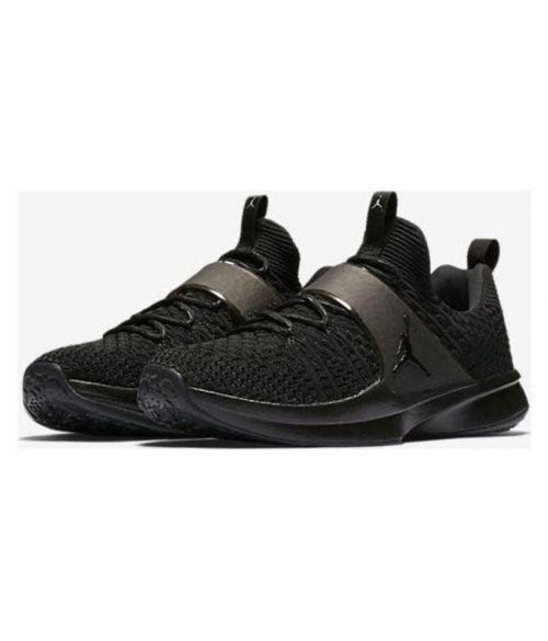 NIKE JORDAN FLYKNIT Basketball RUNNING AND TRAINING SHOES (BLACK)