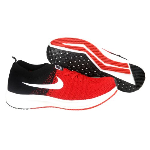 NIKE ZOOM ALL OUT RUNNING AND TRAINING SHOES (BLACK & RED)
