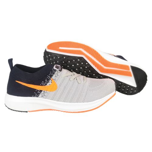 Nike Zoom All Out Running And Training Shoes(GREY & ORANGE)