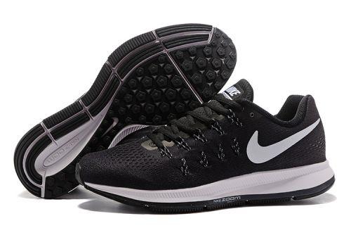 Nike Zoom Pegasus 33 Running And  Training Sports Shoes(BLACK)