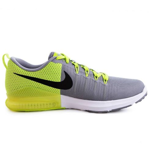NIKE ZOOM TRAIN ACTION RUNNING AND TRAINING SHOES(GREY & GREEN)