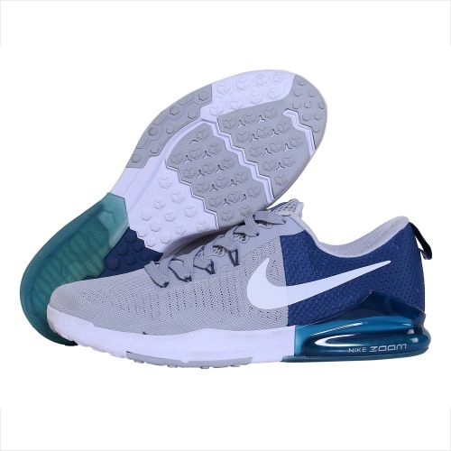 NIKE ZOOM TRAIN ACTION RUNNING AND TRAINING SHOES(GREY & BLUE)