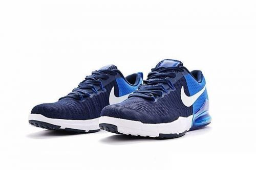 NIKE ZOOM TRAIN ACTION RUNNING AND TRAINING SHOES(NAVY BLUE)