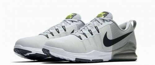 NIKE ZOOM TRAIN ACTION RUNNING AND TRAINING SHOES(WHITE & GREY)