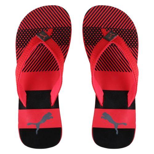 PUMA MEN SLIPPER FLIP FLOP(RED & BLACK)
